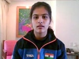 Video : Wasn't Scared Of The Rivals: Shooter Manu Bhaker After Winning World Cup Gold