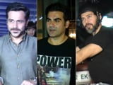 Video : Celeb Spotting! Dino Snapped On His Bike, Emraan & Arbaaz Outside A Restaurant