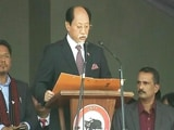 Video: Neiphiu Rio Takes Oath As Nagaland Chief Minister