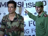 Video : Arjun Rampal, Sonu Sood & Others At The Wrap-Up Party Of <i>Paltan</i>