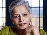 Video : Police Make First Arrest In Journalist Gauri Lankesh Murder Case