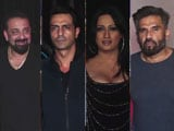 Video : Spotted! Sanjay Dutt, Suniel Shetty & Others At An Event In Mumbai