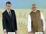 Video : At Solar Meet Attended By Macron, PM Modi's 10-Point Action Plan