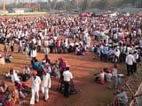 Video : Giant March Spares Students' Exams As Farmers Protest In Mumbai