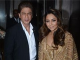 Video : SRK & Gauri Khan Attend Fashion & Lifestyle Awards