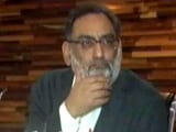 """Video : J&K Minister Who Said Kashmir """"Not A Political Issue"""" Sacked: Sources"""