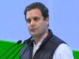 Video : BJP Voice Of Organisation, Congress Voice Of Nation, Says Rahul Gandhi