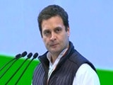 "Video : ""Congress Needs To Change"": Rahul Gandhi's <i>Mea Culpa</i> At Congress Event"