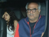 Video : Boney Kapoor Visits Arjun Kapoor's Home With Janhvi & Khushi