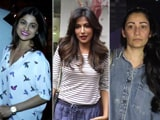 Video : Celeb Spotting! Shamita Shetty, Manyata Dutt & Chitrangada Singh Snapped