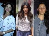 Video: Celeb Spotting! Shamita Shetty, Manyata Dutt & Chitrangada Singh Snapped