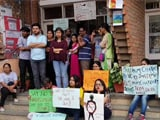Video : JNU Students On March Demanding Arrest Of Professor Accused Of Harassment