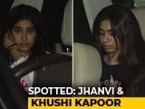 Video : Celeb Spotting: Janhvi & Khushi Kapoor, Arjun Rampal And Others