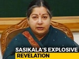 Video : Jayalalithaa Refused To Go To Hospital, AIADMK Leaders Met Her: Sasikala