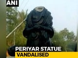 Video : CRPF Jawan Arrested For Vandalising Periyar Statue, Blames Drunk Stupor