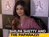 Video : Shilpa Shetty On Airport Looks & The Paparazzi