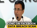 Video : Congress Denies Links To Cambridge Analytica, Says BJP Used Its Services