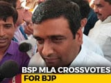 Video : Mayawati's Lawmaker Says He's With Yogi Adityanath. BSP Down 2 Votes