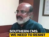 Video : Southern States Oppose New Yardstick In 15th Finance Commission