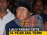 Video : Lalu Yadav Sentenced To 14 Years Jail In 4th Fodder Scam Case