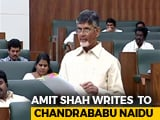 "Video : ""Why Are You Spreading Lies?"" Chandrababu Naidu Hits Back At Amit Shah"