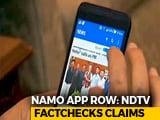 Video : Narendra Modi App Sends User Data To US Firm, Reveals Fact-Check
