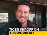 Video : #Just2Questions: Does Tiger Shroff Ever Bunk Gym?