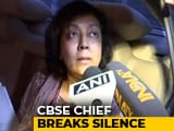 "Video : CBSE Chief Breaks Silence, Says Re-Exam ""In Favour Of Children"""