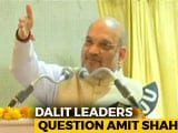 Video: Amit Shah Braves Dalit Anger In Karnataka Over Minister's Comments