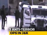 Video : In Jammu And Kashmir Pre-Dawn Ops, 13 Terrorists Killed, 3 Soldiers Dead