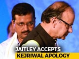 "Video : Let's End ""Unsavoury Litigation"": Arvind Kejriwal's Sorry To Arun Jaitley"