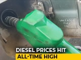 Video: Diesel At Record High, Petrol Hits 4-Year Peak
