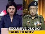 "Video : ""Blow To Terrorist Leadership In Valley,""  Jammu And Kashmir DGP Tells NDTV"