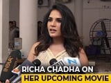 Video : Richa Chadha At A Promotional Shoot Of <i>Daas Dev</i>