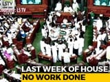 Video : Chaos Rules Parliament, Both Houses Adjourned Within Minutes