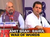 Video: War Of Words Between Amit Shah, Rahul Gandhi As Karnataka Campaign Picks Pace