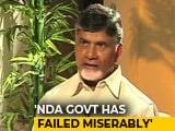 Video : PM Ignored Me In Parliament, Says Chandrababu Naidu