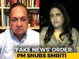 "Video: ""Won't Resign, Am Not Arvind Kejriwal"": The Big 'Fake News' Debate"