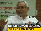 "Video : ""Don't Expect Me..."": Nitish Kumar's Sharp Message To BJP After Bihar Violence"