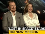 Video: Stars Of <i>Lost In Space</i> Molly Parker & Toby Stephens On Their New Mission
