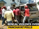 Video : BJP Leader Thrashed, Car Attacked In Bengal Over Panchayat Nominations