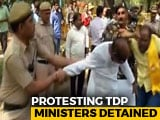 Video : TDP Lawmakers Detained Near PM's Residence, Arvind Kejriwal Visits Them