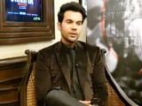 "Video : ""Hope Every Year Is A Rajkummar Film Festival"": Rajkummar Rao"