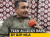 "Video : ""Check Family's Criminal Record"": BJP Lawmaker, Accused Of Rape In UP"
