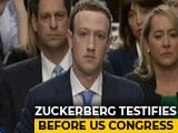 Video : Watch: Facebook CEO Mark Zuckerberg's Congress Testimony