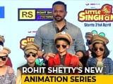 Video : Rohit Shetty On Animation Series <i>'Little Singham'</i>