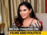 Video: Richa Chadha Has This Actor On Her Wish List