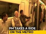 Video : PM Modi Takes Metro During Rush Hour, Riders Go Selfie-Happy