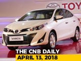 Video : Toyota Yaris Features, TVS Apache RTR 160 Race Edition, And Mahindra XUV500 Facelift Launch Date