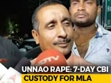 Video : BJP's Kuldeep Singh Sengar Sent To 7 Days' CBI Custody In Unnao Rape Case